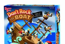 dont rock the boat spielzeugtester